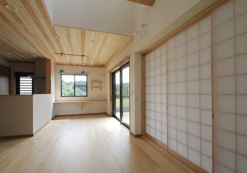 下吉田の家